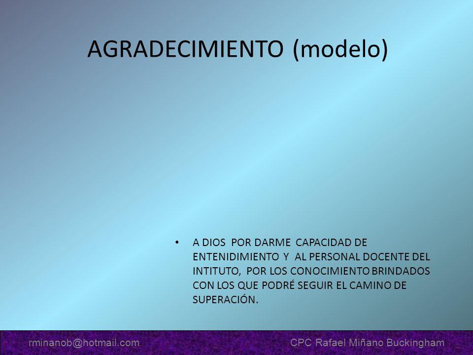 AGRADECIMIENTO (modelo)