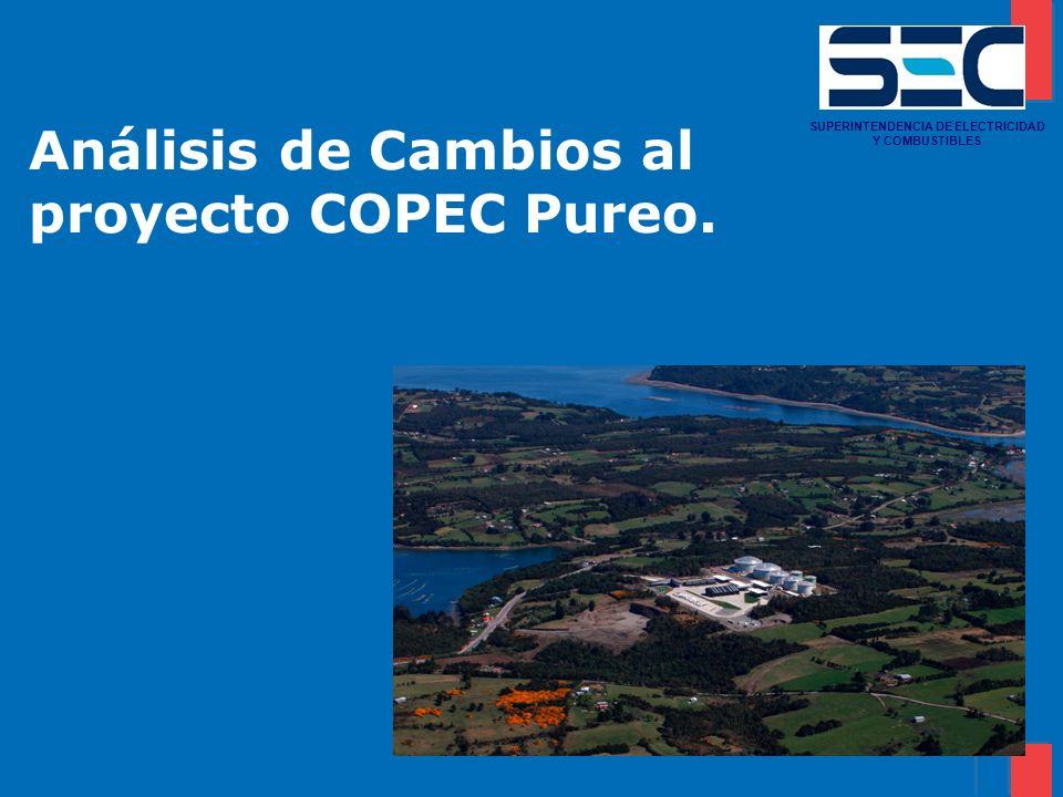 Análisis de Cambios al proyecto COPEC Pureo.