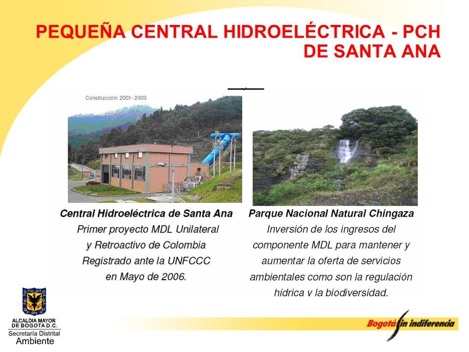 PEQUEÑA CENTRAL HIDROELÉCTRICA - PCH DE SANTA ANA