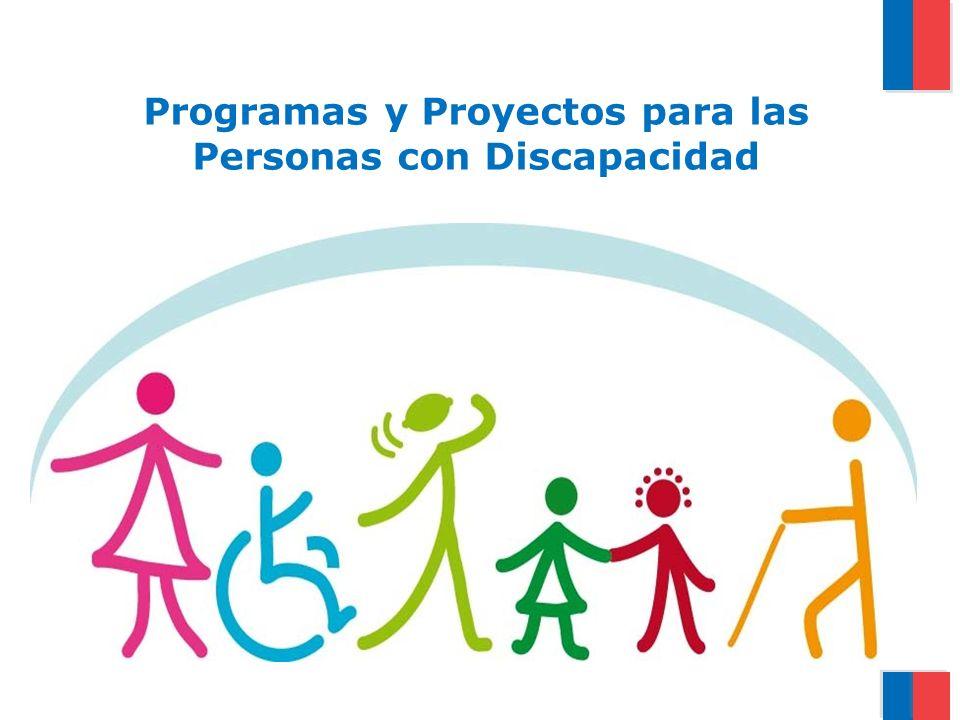 Programas y Proyectos para las Personas con Discapacidad