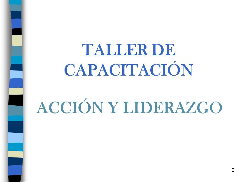 TALLER DE CAPACITACIÓN