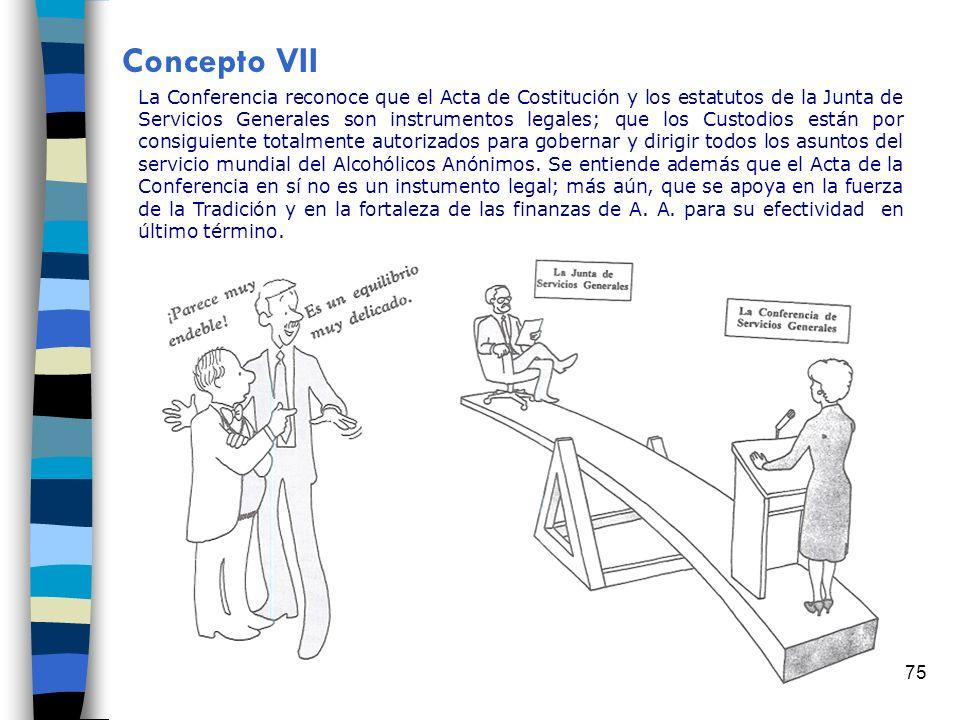 Concepto VII