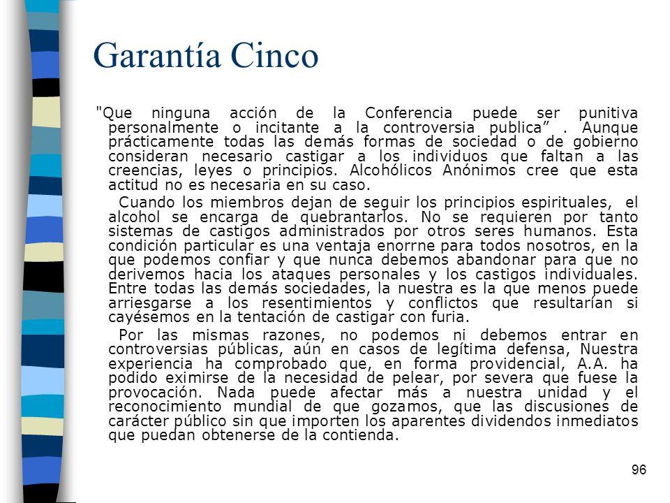 Garantía Cinco