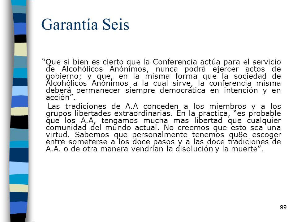 Garantía Seis