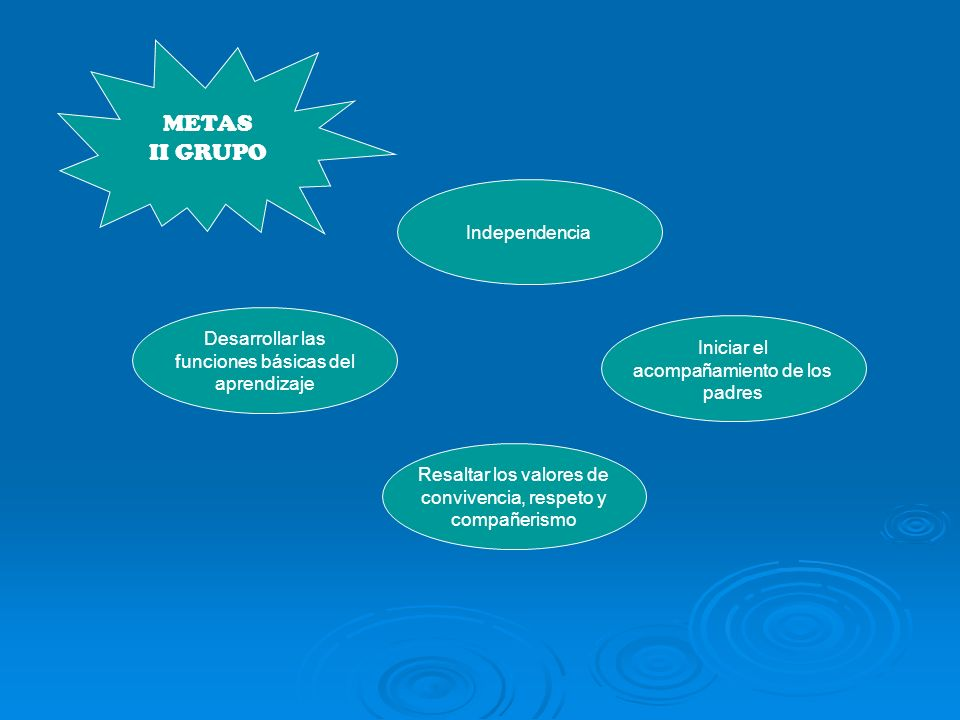METAS II GRUPO Independencia