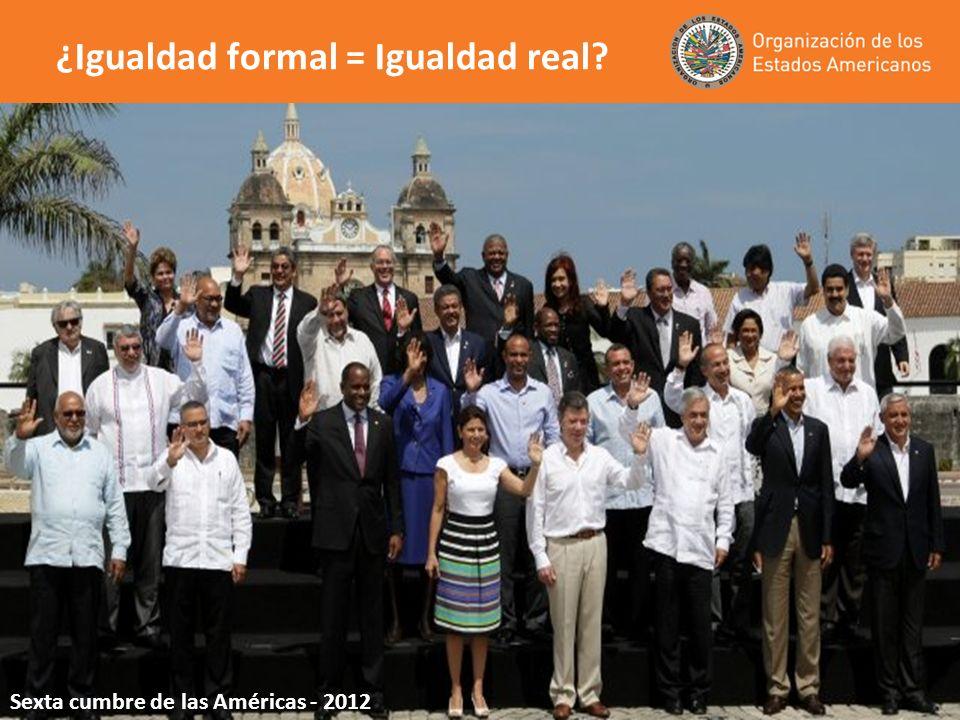 ¿Igualdad formal = Igualdad real