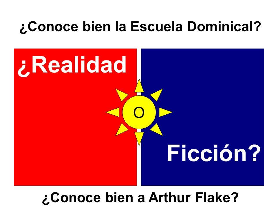 ¿Conoce bien la Escuela Dominical ¿Conoce bien a Arthur Flake