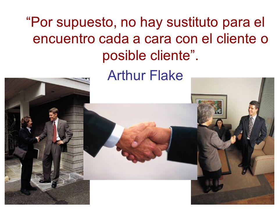 Por supuesto, no hay sustituto para el encuentro cada a cara con el cliente o posible cliente .