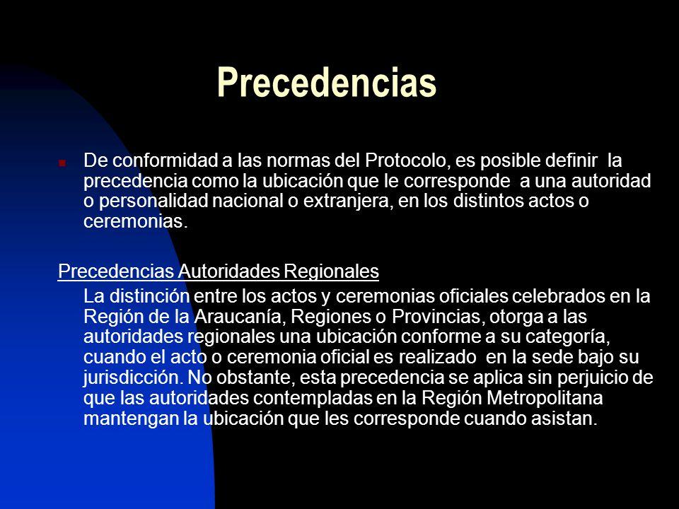 Precedencias