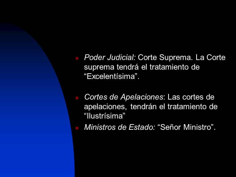Poder Judicial: Corte Suprema