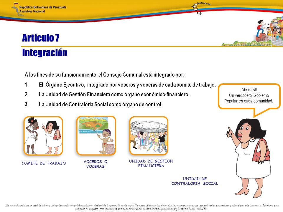 UNIDAD DE GESTION FINANCIERA UNIDAD DE CONTRALORIA SOCIAL