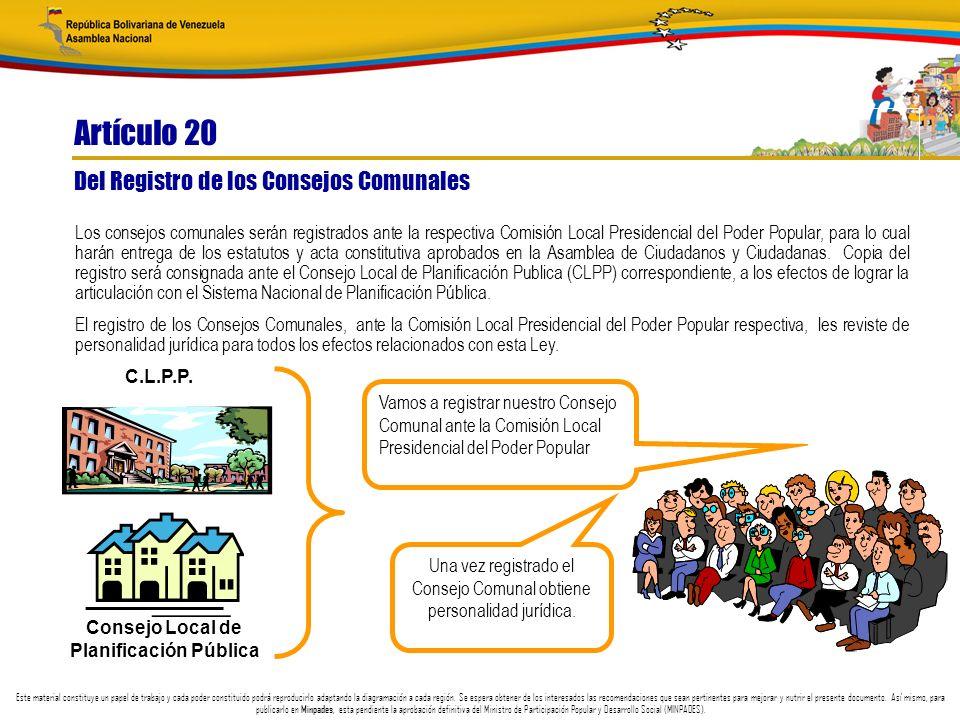 Consejo Local de Planificación Pública