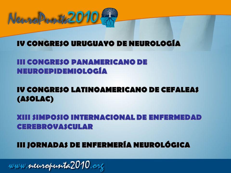IV CONGRESO URUGUAYO DE NEUROLOGÍA