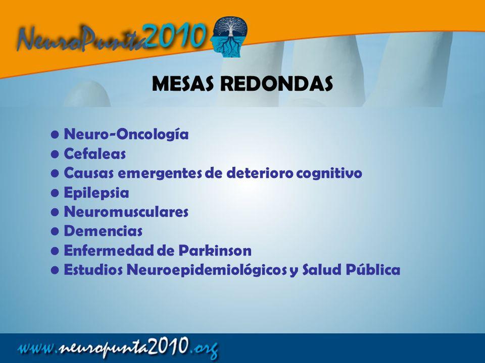 MESAS REDONDAS Neuro-Oncología Cefaleas