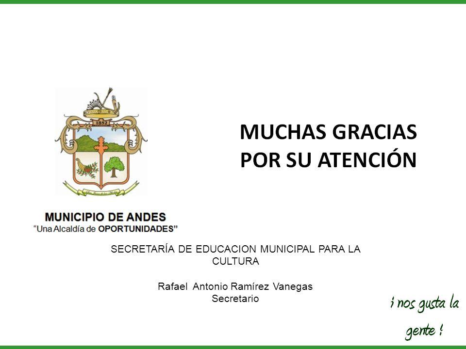 SECRETARÍA DE EDUCACION MUNICIPAL PARA LA CULTURA