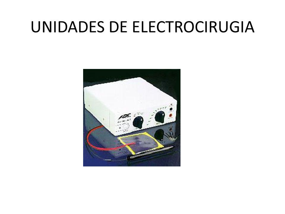 UNIDADES DE ELECTROCIRUGIA