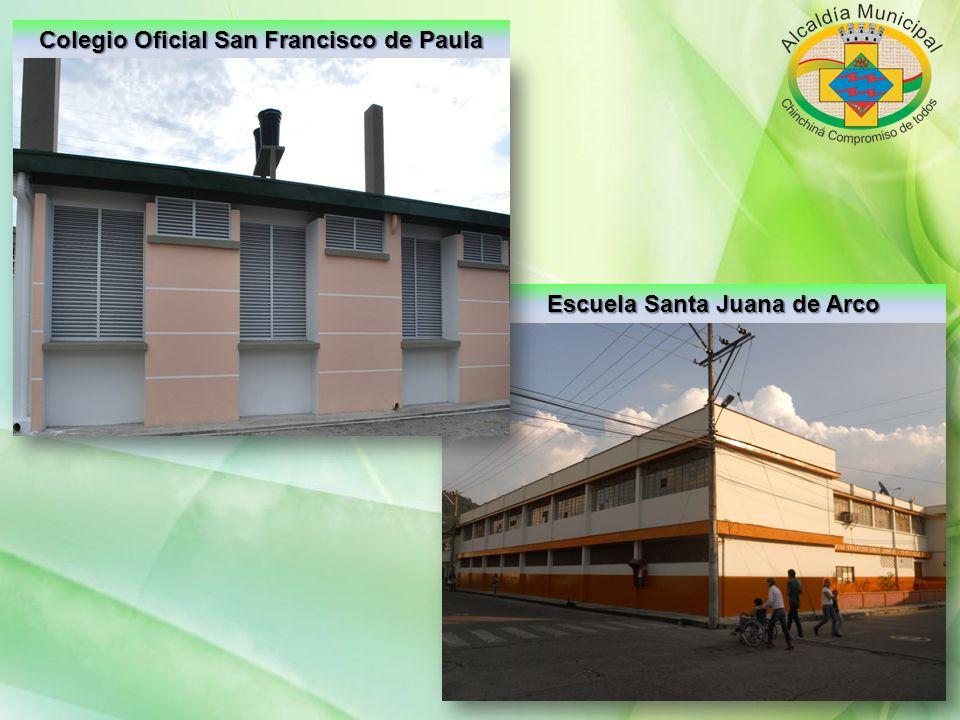 Colegio Oficial San Francisco de Paula Escuela Santa Juana de Arco