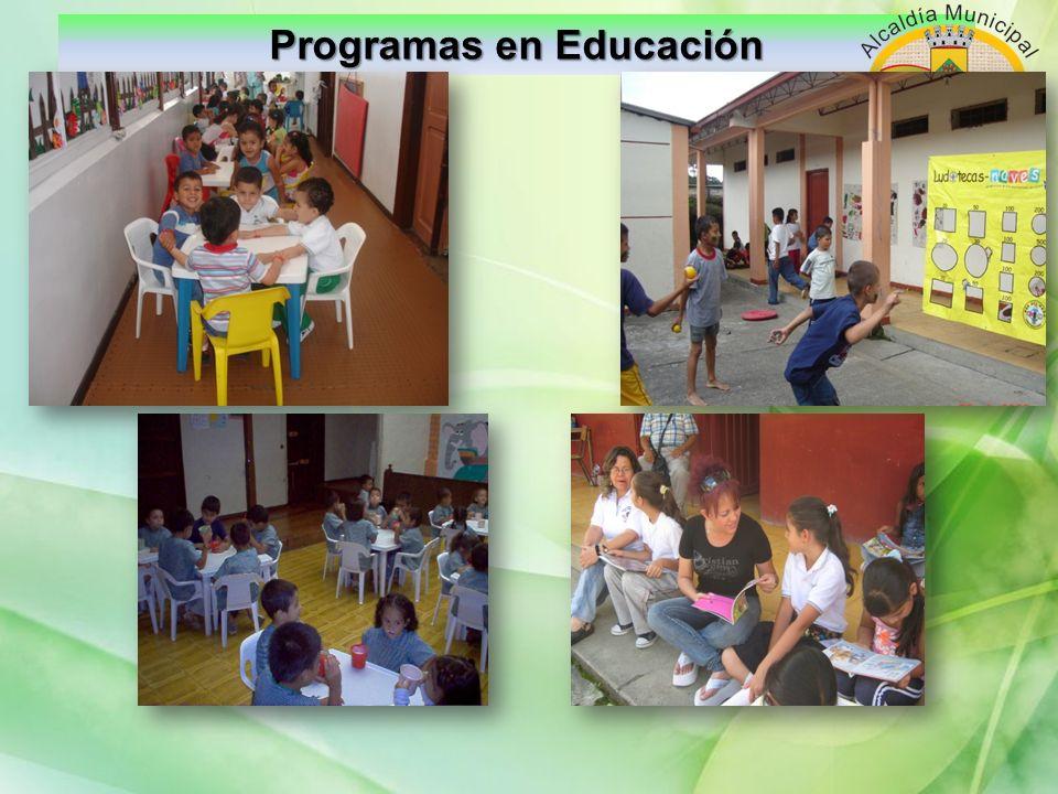 Programas en Educación