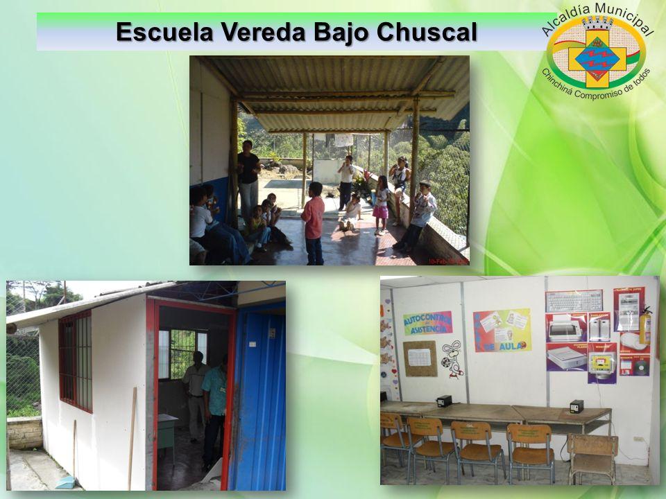 Escuela Vereda Bajo Chuscal