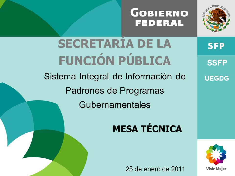 SECRETARÍA DE LA FUNCIÓN PÚBLICA
