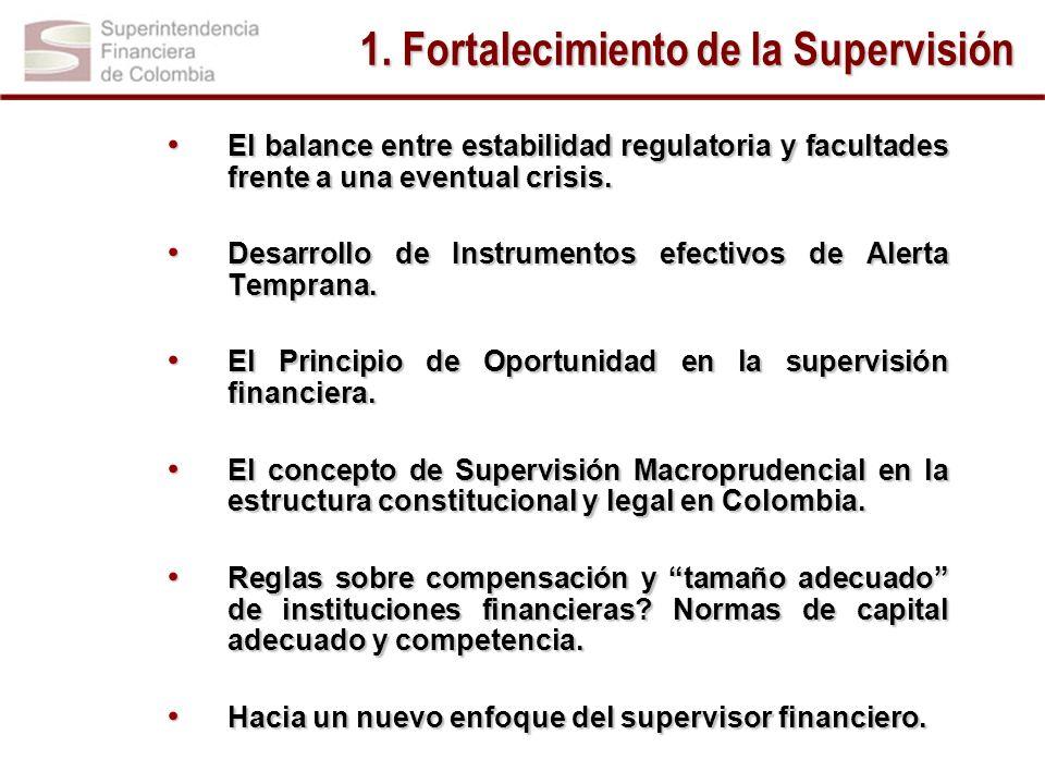 1. Fortalecimiento de la Supervisión
