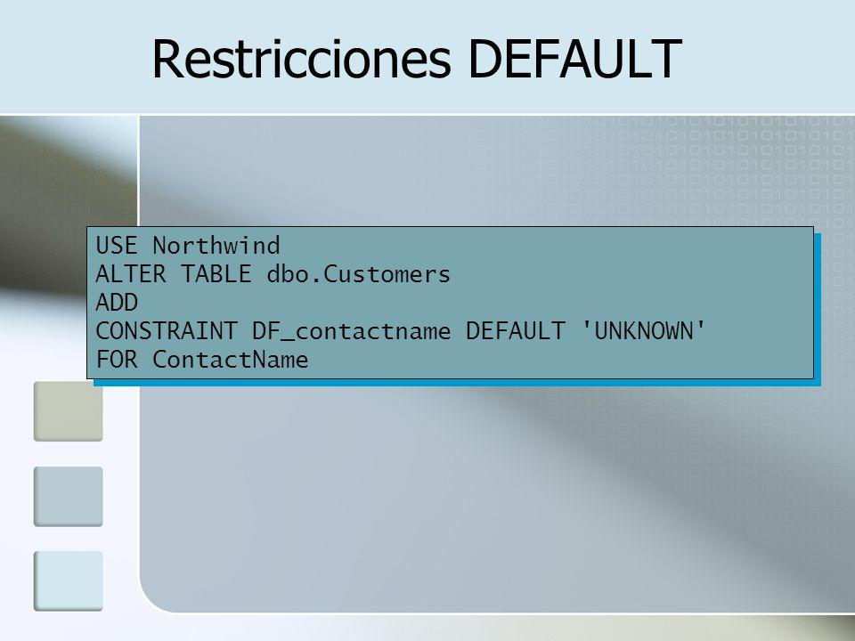 Unidad iv dise o de base de datos relacionales ppt descargar - Alter table drop constraint ...