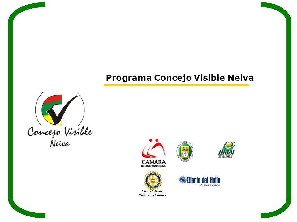 Programa Concejo Visible Neiva