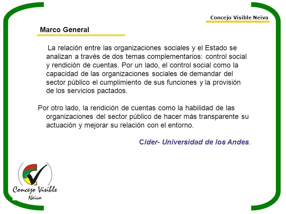 Cider- Universidad de los Andes.