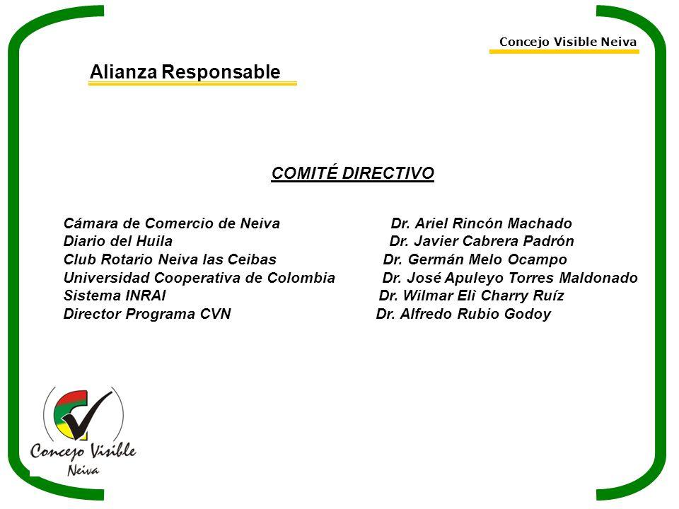 Alianza Responsable COMITÉ DIRECTIVO