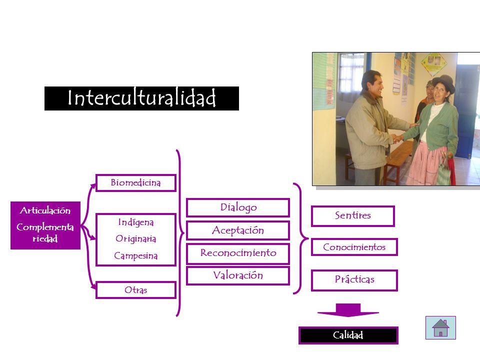 Interculturalidad Dialogo Sentires Aceptación Reconocimiento