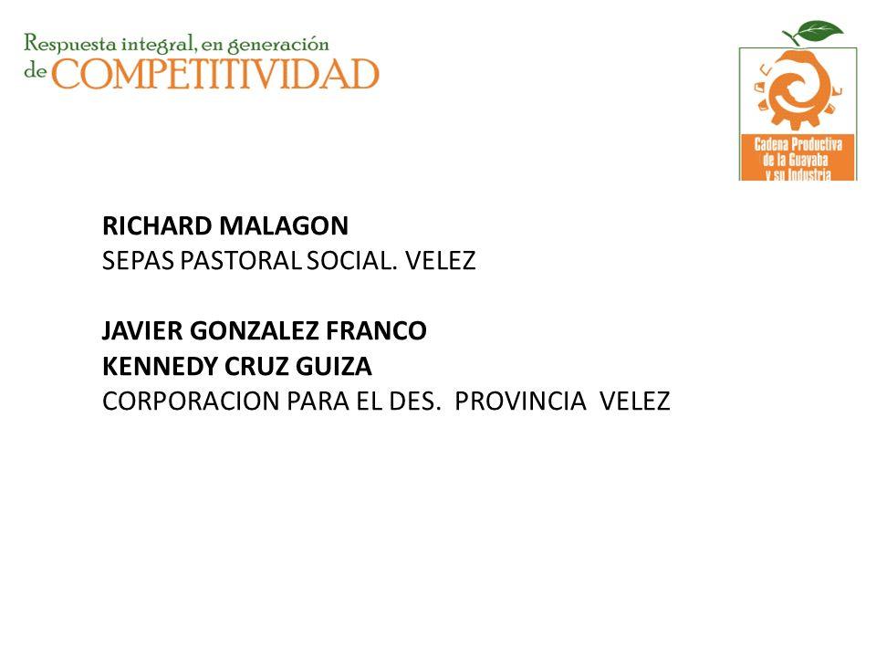 RICHARD MALAGON SEPAS PASTORAL SOCIAL