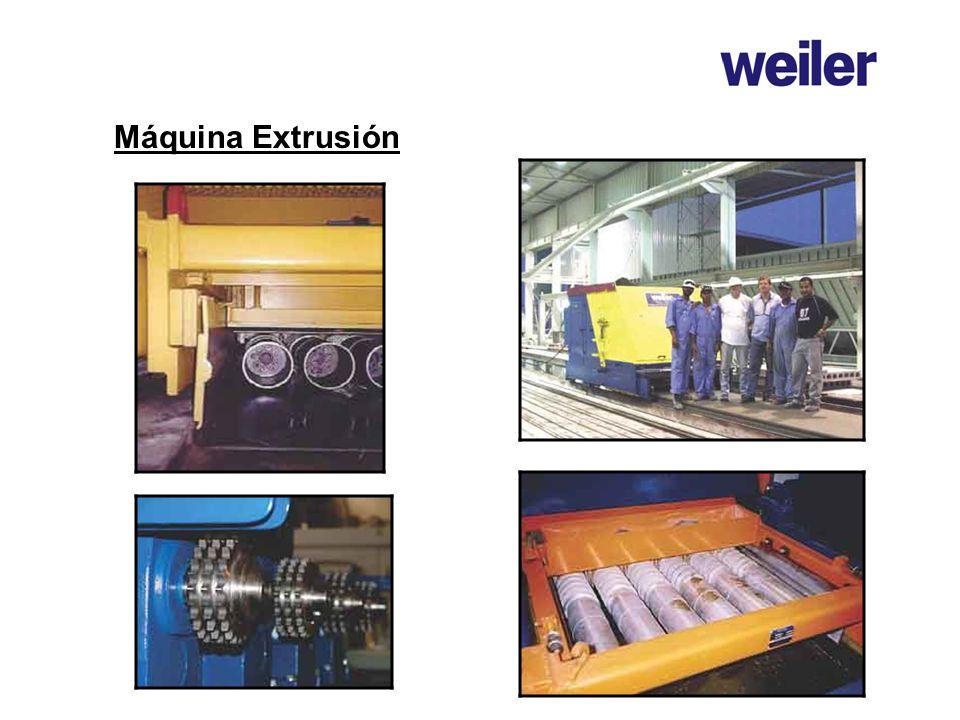 Máquina Extrusión