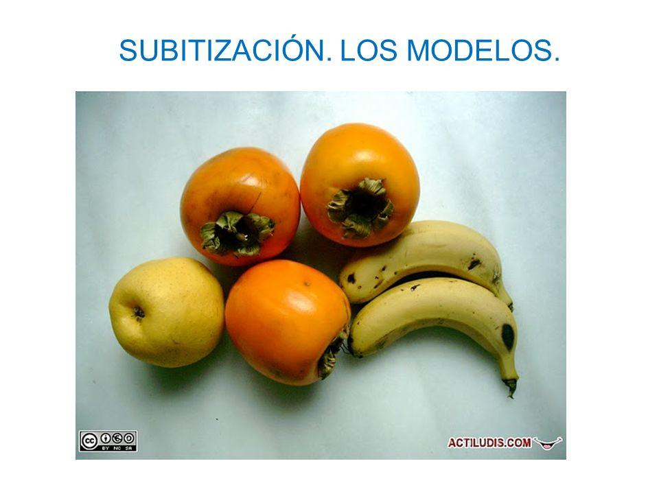 SUBITIZACIÓN. LOS MODELOS.