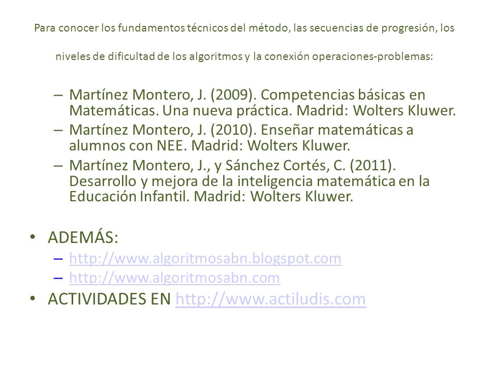 ACTIVIDADES EN http://www.actiludis.com