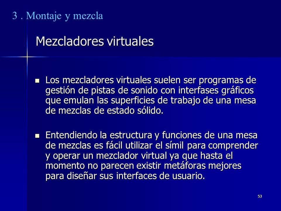 Mezcladores virtuales