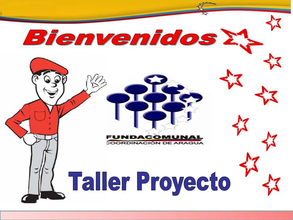 Bienvenidos Taller Proyecto