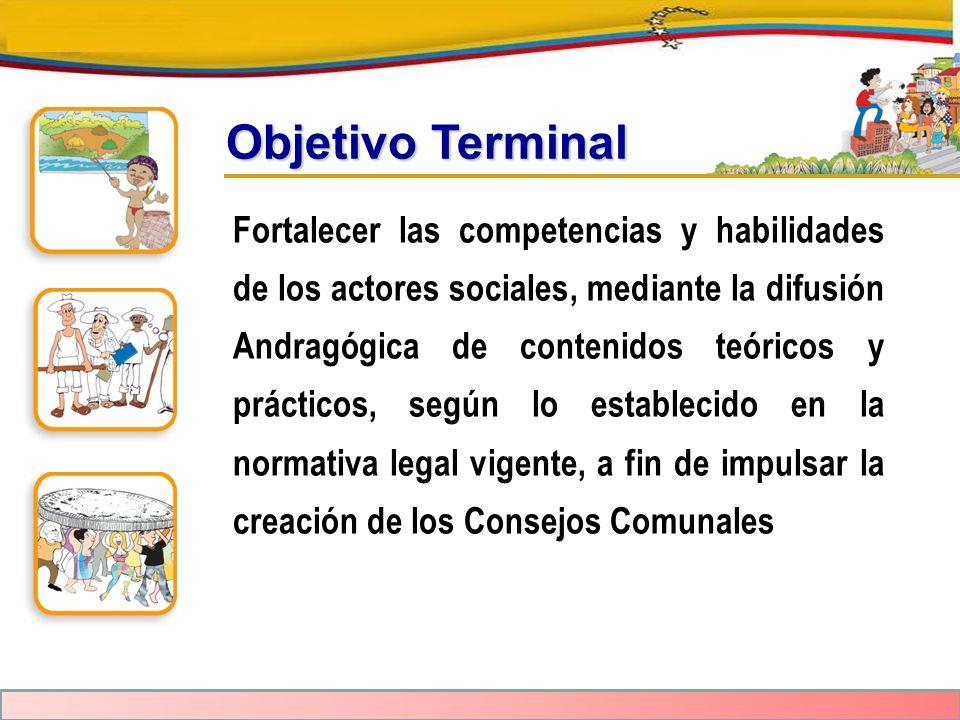 Objetivo Terminal