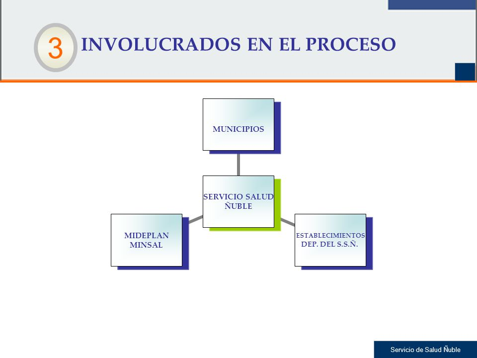 INVOLUCRADOS EN EL PROCESO