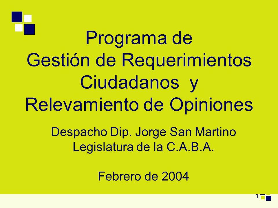 Despacho Dip. Jorge San Martino