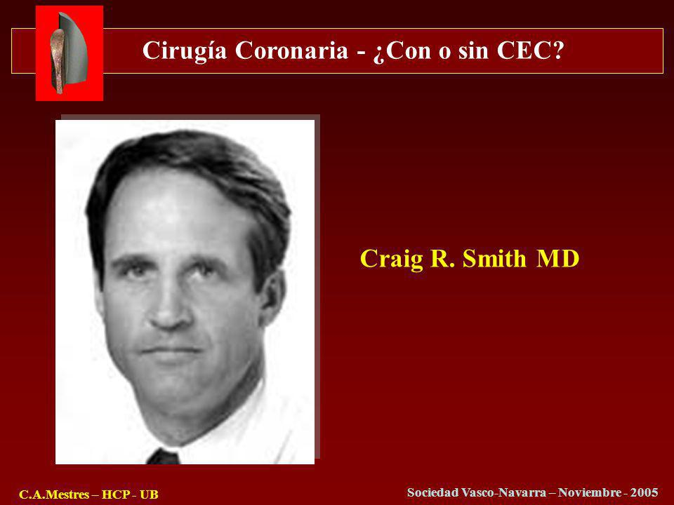 Craig R. Smith MD