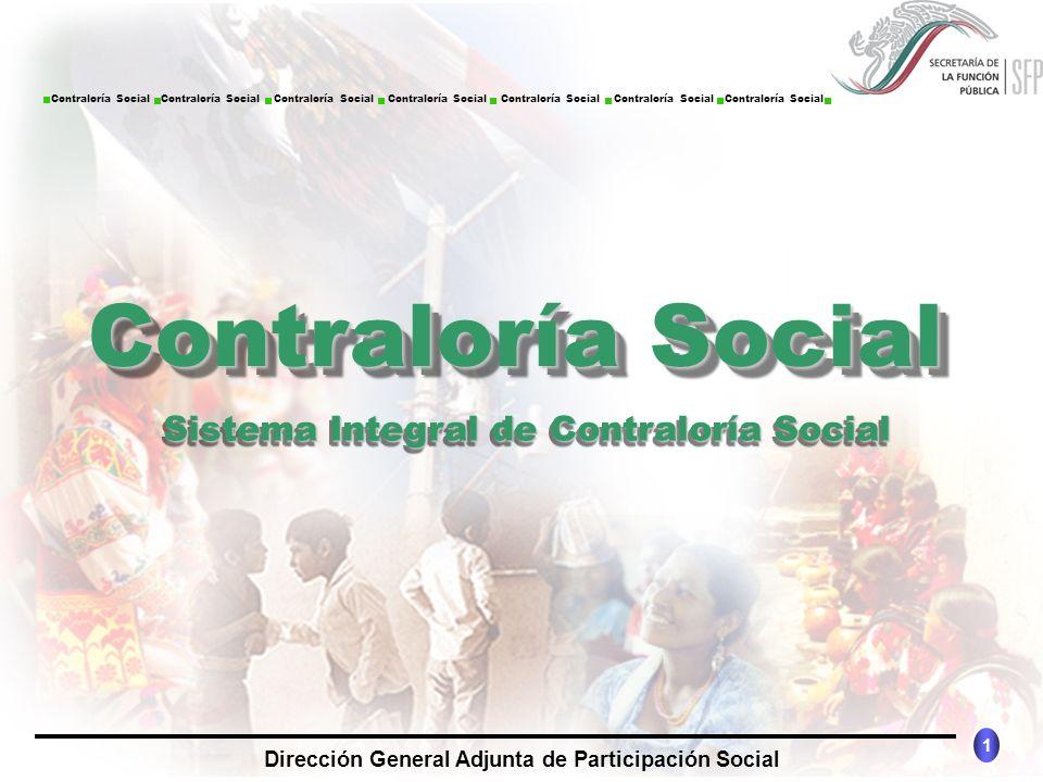 Sistema Integral de Contraloría Social
