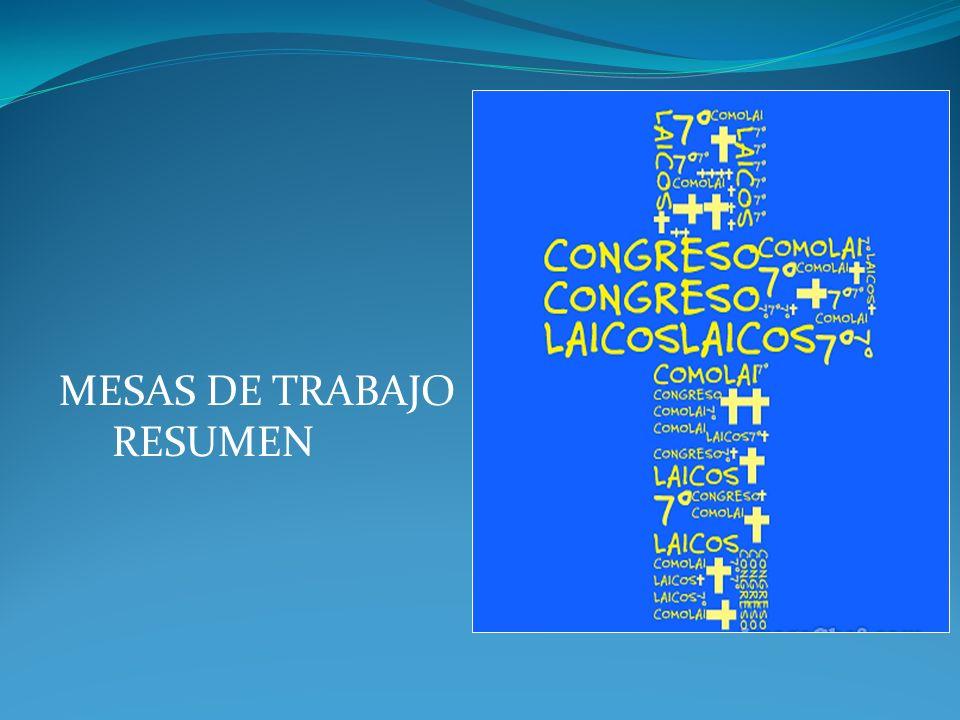 m MESAS DE TRABAJO RESUMEN
