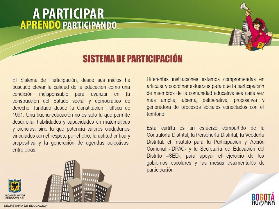 SISTEMA DE PARTICIPACIÓN