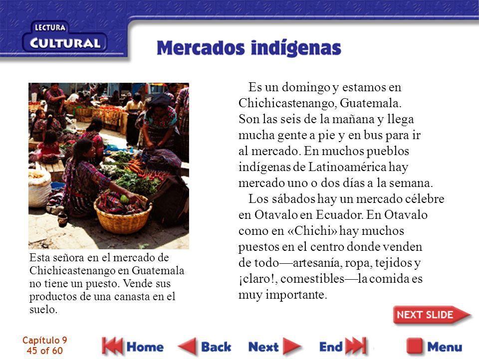 Es un domingo y estamos en Chichicastenango, Guatemala.