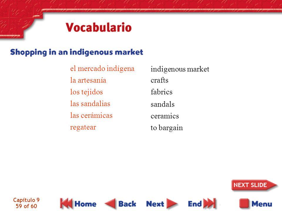 el mercado indígena la artesanía los tejidos las sandalias