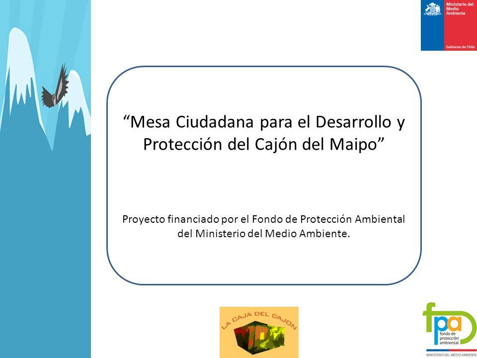 Mesa Ciudadana para el Desarrollo y Protección del Cajón del Maipo