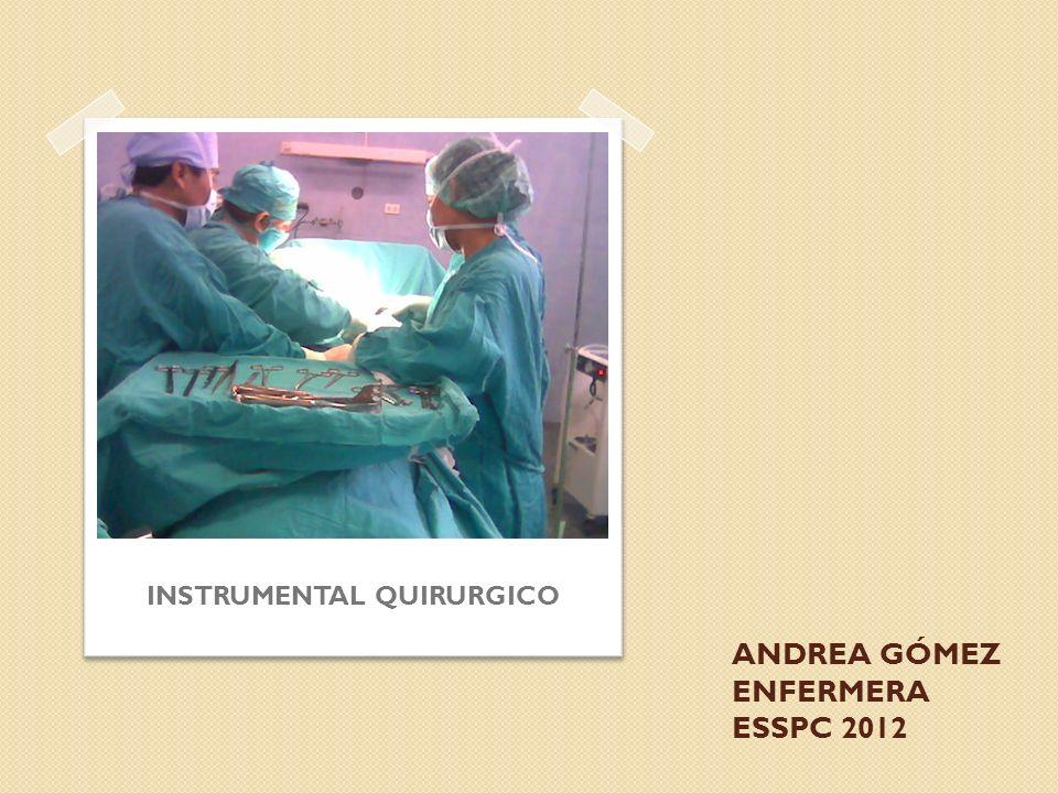 ANDREA GÓMEZ ENFERMERA ESSPC 2012