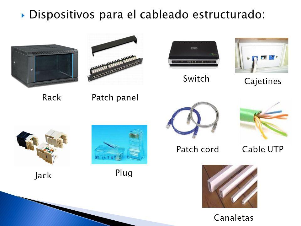 Dispositivos para el cableado estructurado: