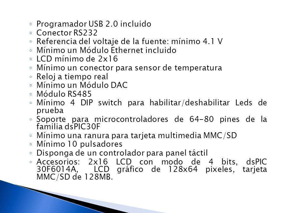 Programador USB 2.0 incluido Conector RS232