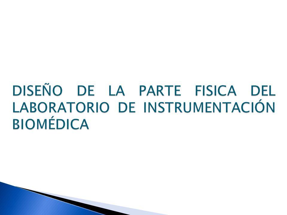 DISEÑO DE LA PARTE FISICA DEL LABORATORIO DE INSTRUMENTACIÓN BIOMÉDICA